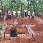 Hausbau in Tansania